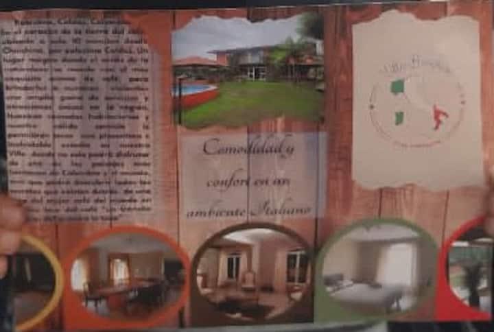 #Villa Borghese Palestina Caldas ( habitación)