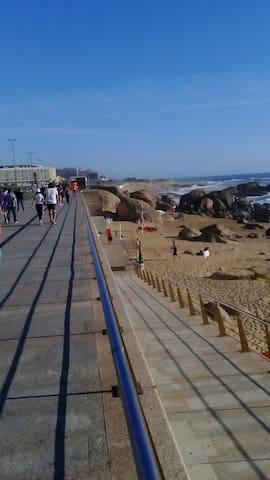 Cantinho à beira-mar a minutos do Porto