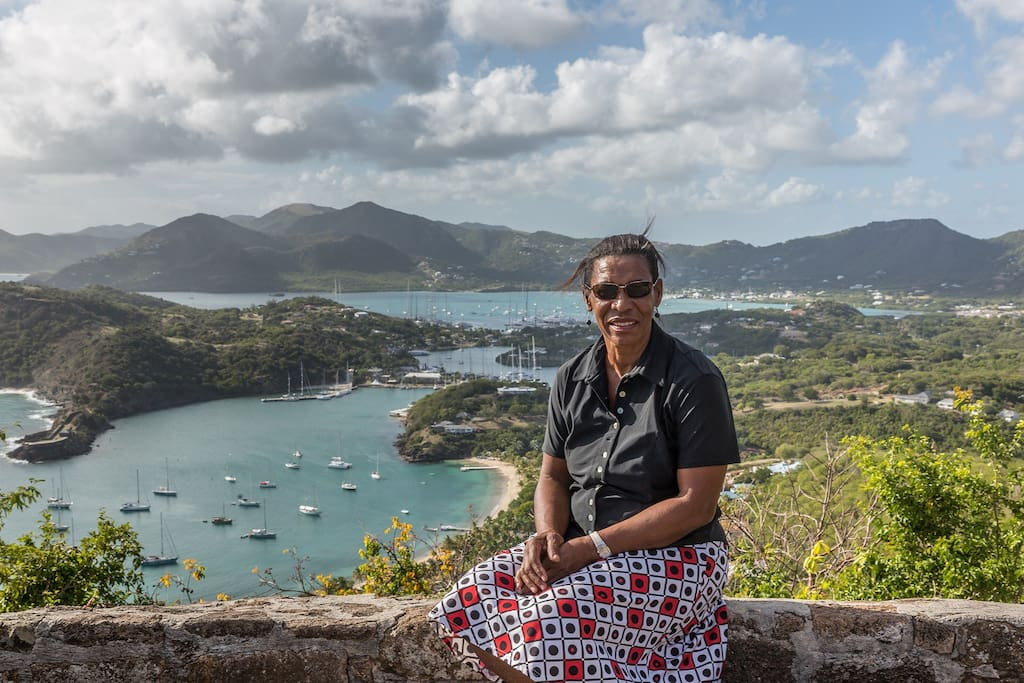 Scences of Nelson's Dockyard from Shirley Heights
