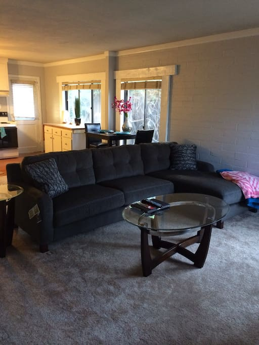 Clean bright open home!