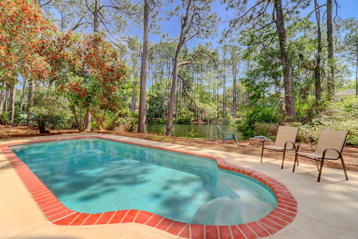 6 Topside 3 BR Home Pool Palmetto Dunes