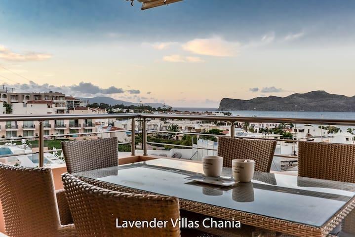 Villa Lavender, Ag. Marina, Chania - Chania - Hus