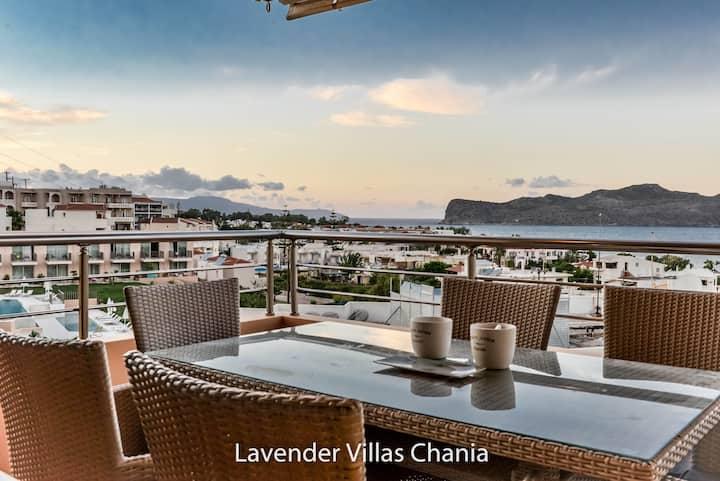 Villa Lavender, Ag. Marina, Chania