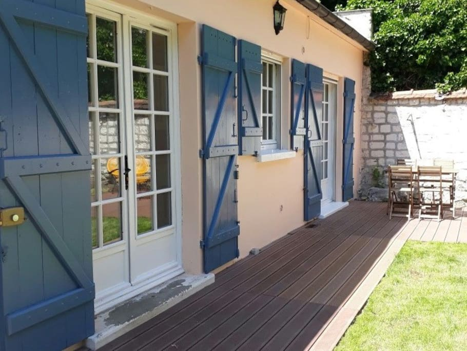 Magnolia cottage casas en alquiler en maisons laffitte isla de francia francia - Casas de alquiler en francia ...