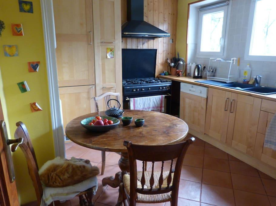 la cuisine - a warm kitchen
