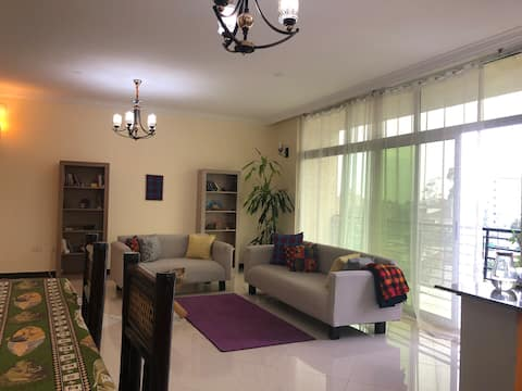 Specious shared apartment 10 min. from the airport