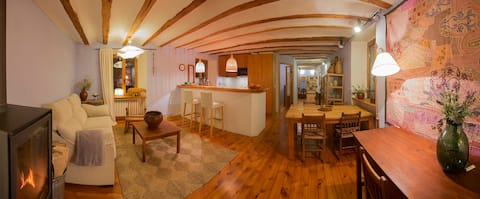 Casa señorial S.XVI Anciles-Benasque-free wifi x 4