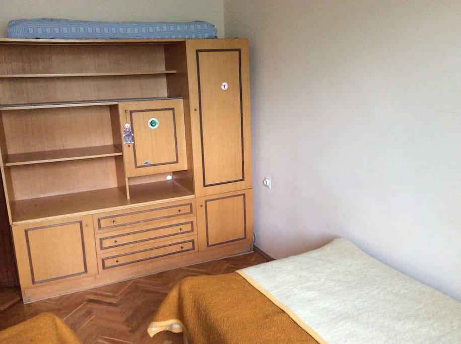 the wardrobe in Room B