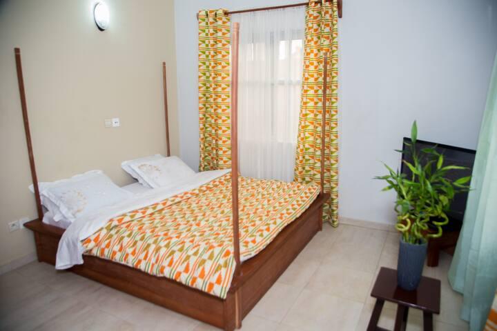 Cotonou: Belle villa confortable, 5mn de la plage
