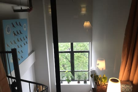 Room in Spacious Loft, 20' Ceilings - Brooklyn - Appartamento