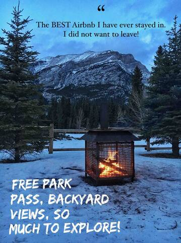 We've been lucky to host many amazing and happy guests. We would love to meet you, too!   As the photo says, national park pass is included. This will save you about $125!