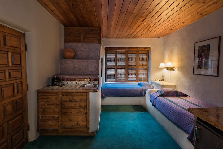 Two Twins in Historic Taos Hotel