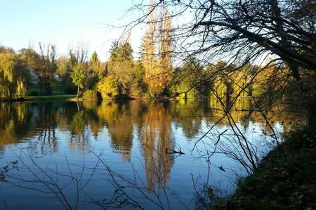 Au bord de l'eau au cœur parc ch 3 - Choisy-au-Bac