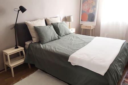 Spacious bedroom in quaint St Knut