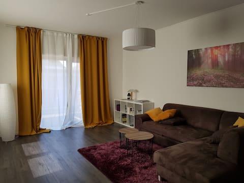 moderne möblierte Wohnung