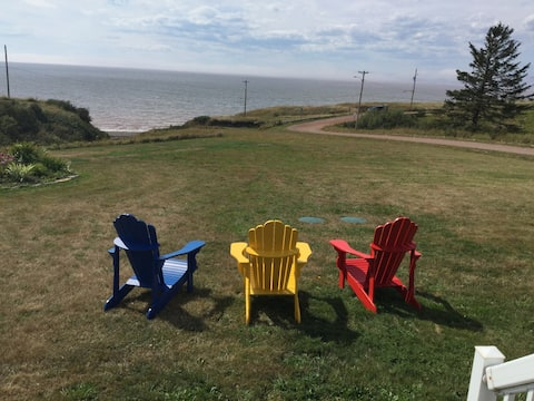 Amazing views of the Bay of Fundy
