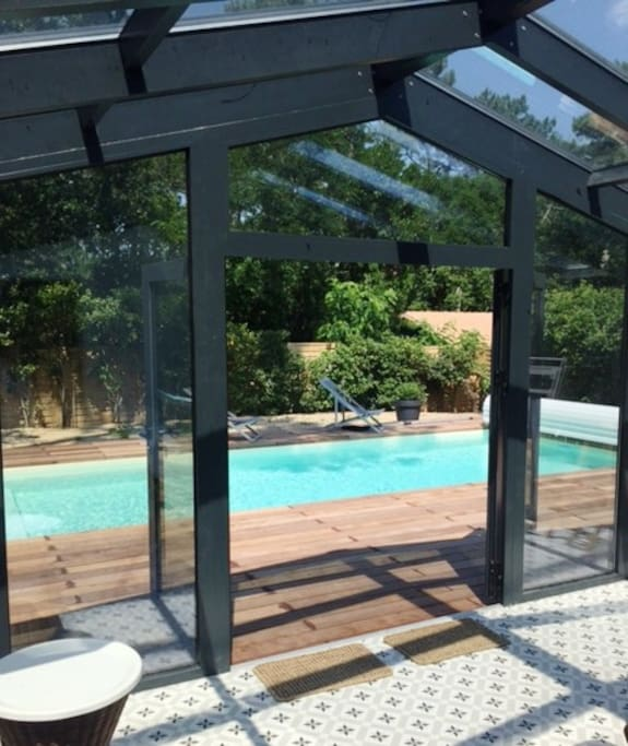 Villa avec piscine proche plage houses for rent in la - Piscine la teste de buch ...