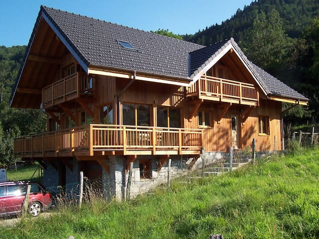 Large chalet spectacular views ideal summer/winter - Aiguebelle - Alpstuga