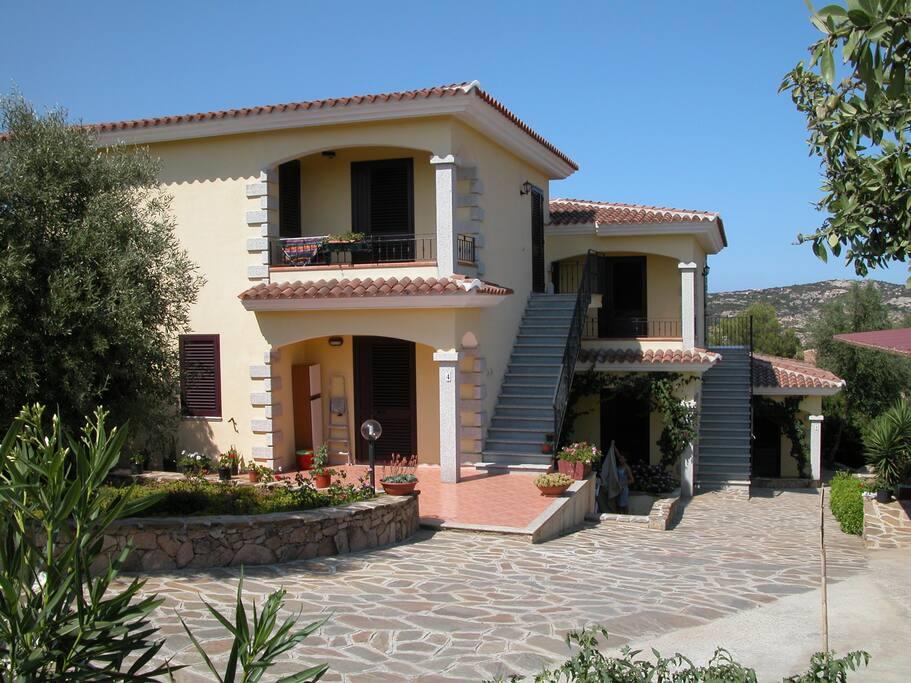 L'ingresso delle case