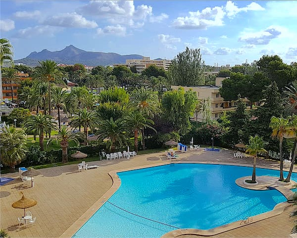 The BEST Views in Alcúdia - 7th floor studio