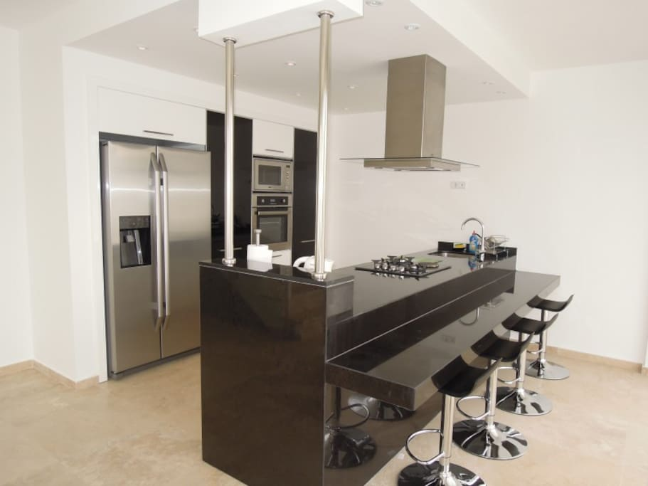 Fully equipped kitchen 30 m²