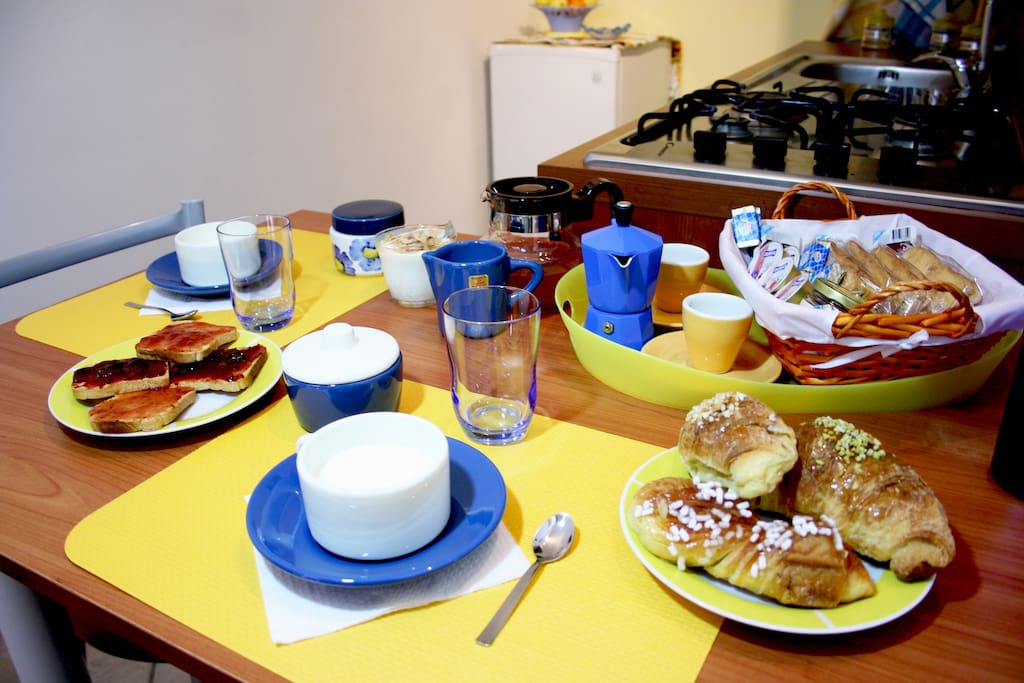 prima colazione all'italiana