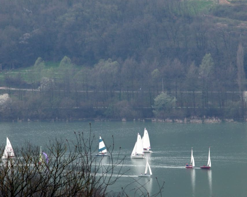 Le barche al lago