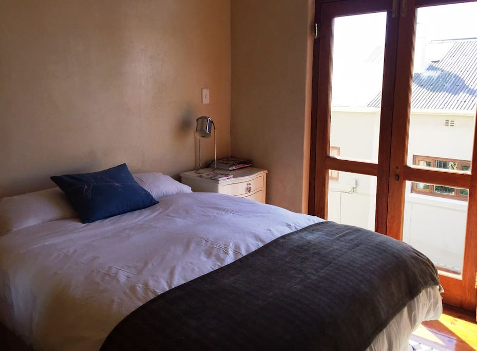 Upstairs room sleeps 2  persons. Double bed.