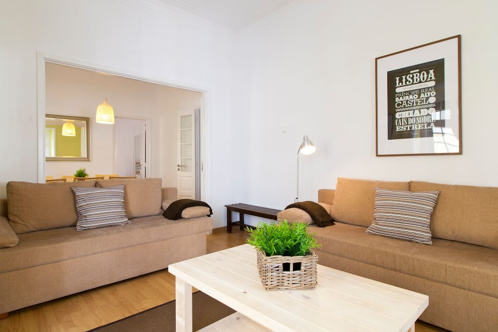Living Room (2 Sofa Beds, Sleep 2)