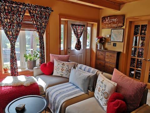 Cozy historic village cottage