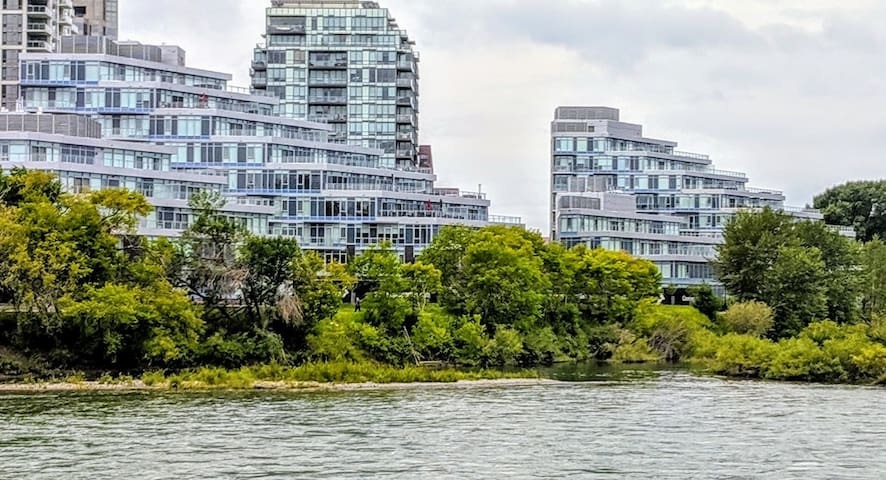 Modern DT Eau Claire Waterfront Condo