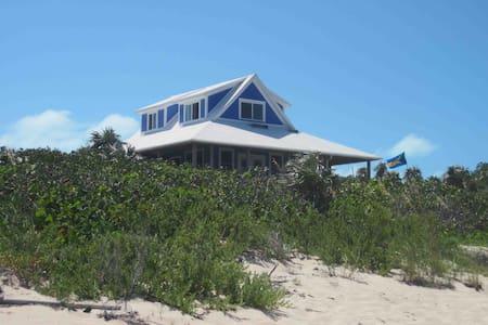 long island bahamas home oceanside - Salt Pond - Rumah