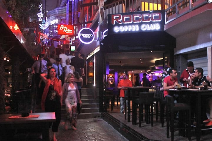 Paceville : Just 15 minutes walking distance. Malta's nightlife hub full of clubs and  bars.