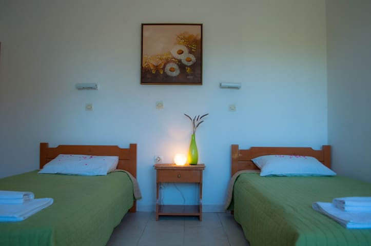 Seaside Resorts (Studio - 2 single beds) - Kavos - Apartamento