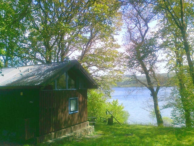 Sloy cabin, with wood fired hot tub - Argyll and Bute - Chatka