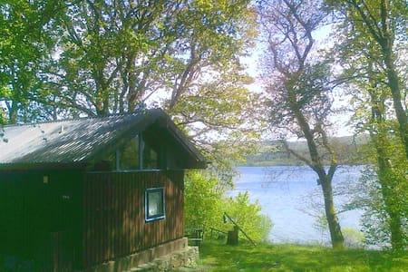 Sloy cabin, with wood fired hot tub - Argyll and Bute