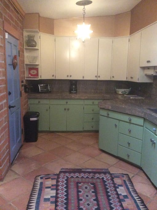 Romantic well equipped kitchen