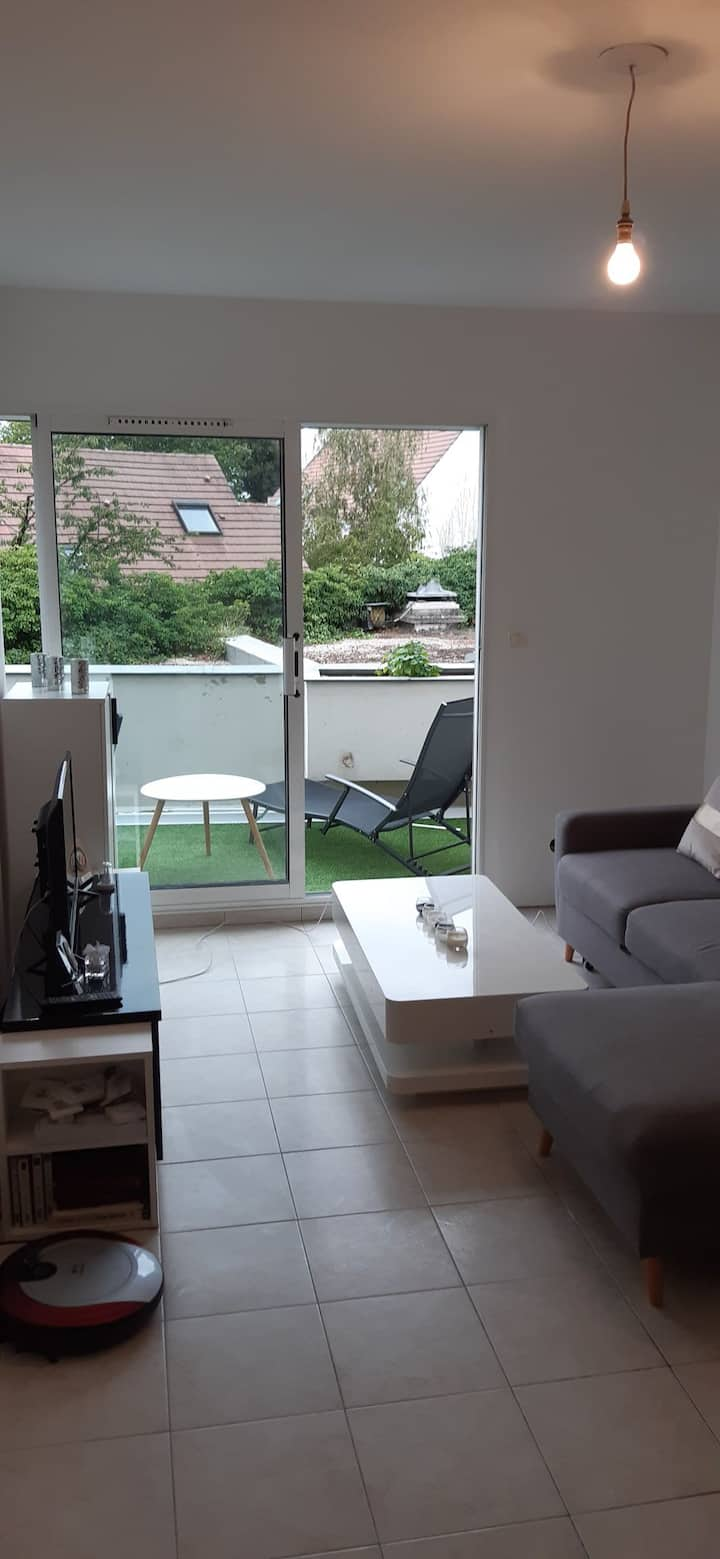 Location d'un appartement T2 de 50m2.