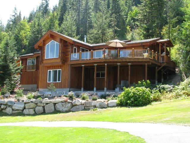 Log Cabin with Gorgeous Views! - Leavenworth