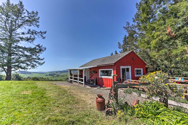 'Moonview Ranch' on 20 Acres in Sonoma County!