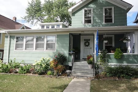 Oshkosh: Cozy home downtown - Oshkosh - Haus