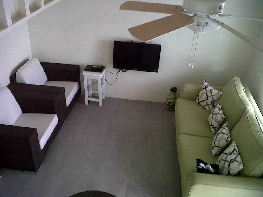 living room and queens sofa bed