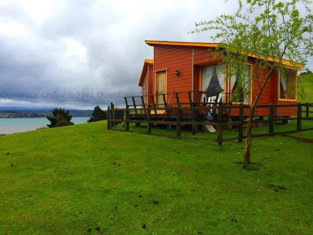 Cabaña 2  - Playa Quento, Castro - Chiloé