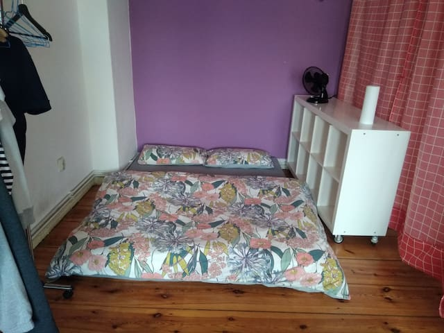 Sharing bedroom with host near Alexanderplatz!