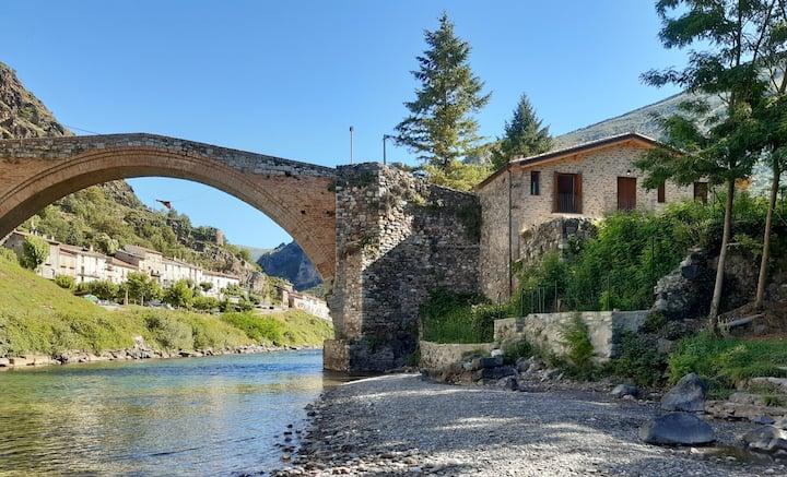 Casa en enclave único en el Pirineo catalán