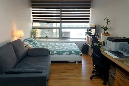 Bright Cozy Studio in City Center of Suwon 수원 영통역