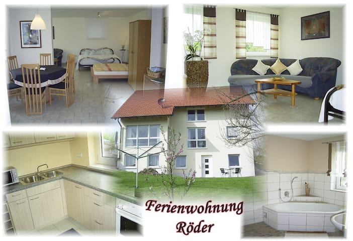 Ferienwohnung / Kurzzeitwohnung - Vestenbergsgreuth - Apartamento