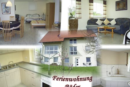 Ferienwohnung / Kurzzeitwohnung - Vestenbergsgreuth - Apartment