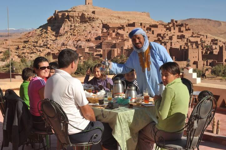 La Fibule Dor Ait Ben Haddou ouarzazate Maroc.
