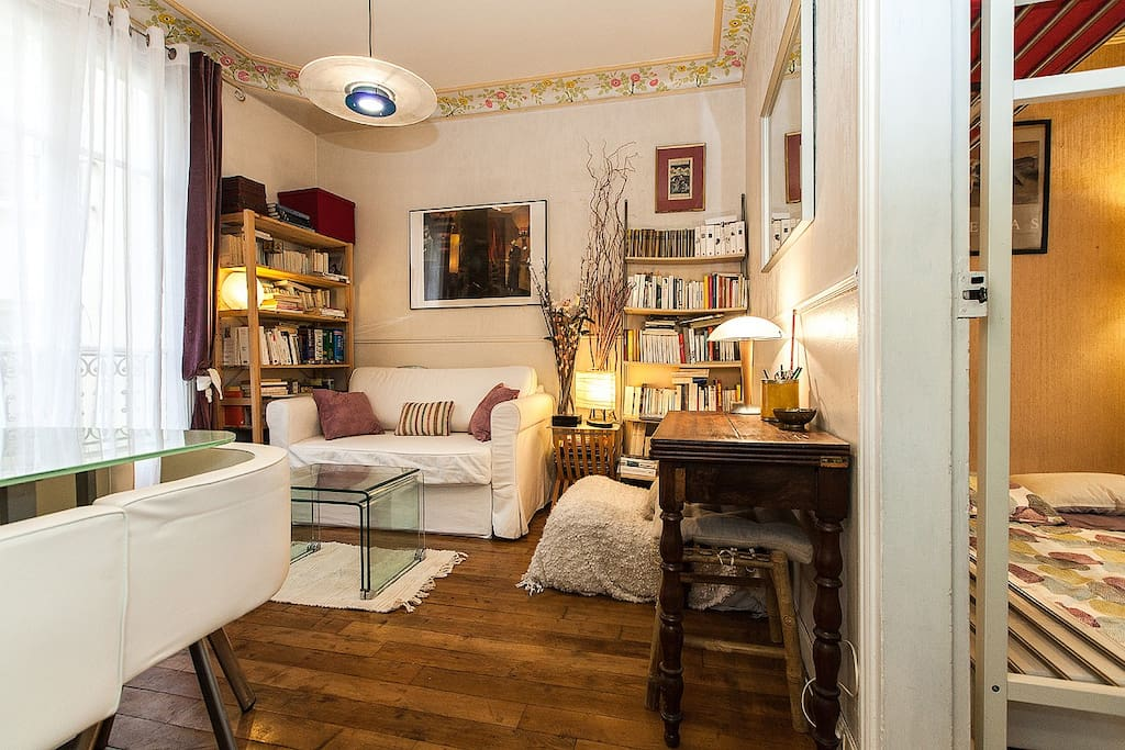 Pr s du quartier latin appartements louer paris le for Chambre quartier latin